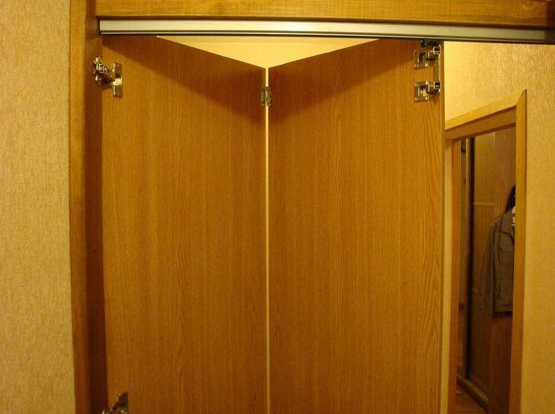 дверь-книжка межкомнатная своими руками