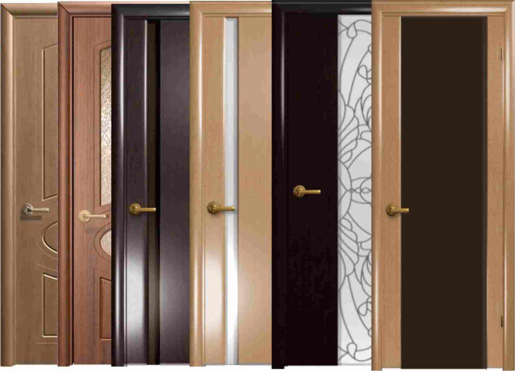 Двери экошпон - конструкции