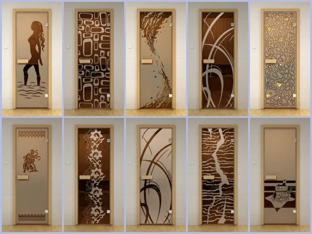 Межкомнатные двери со стеклом - дизайн