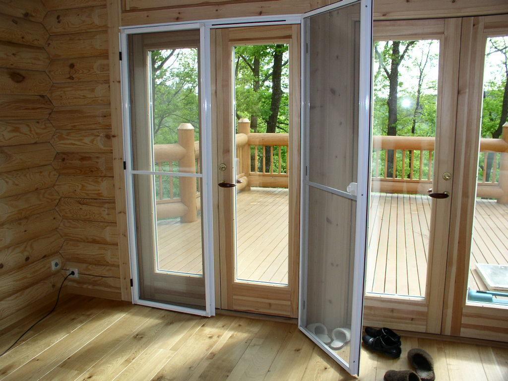 Москитные двери для дома
