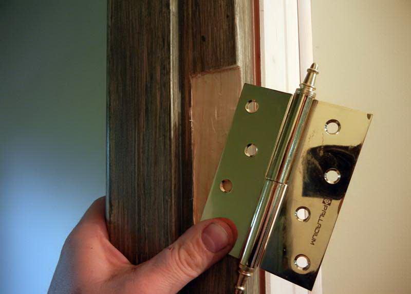 Двери с петлями своими руками 8
