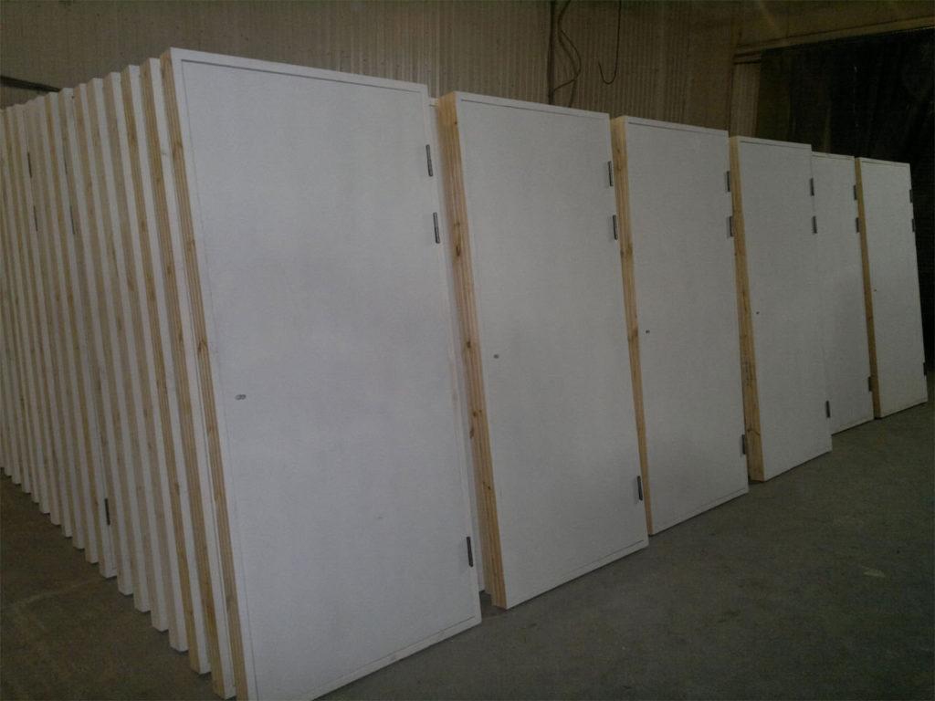 Строительные двери - применение