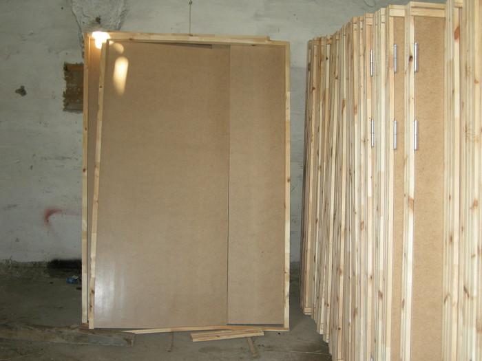 Строительные двери - материал