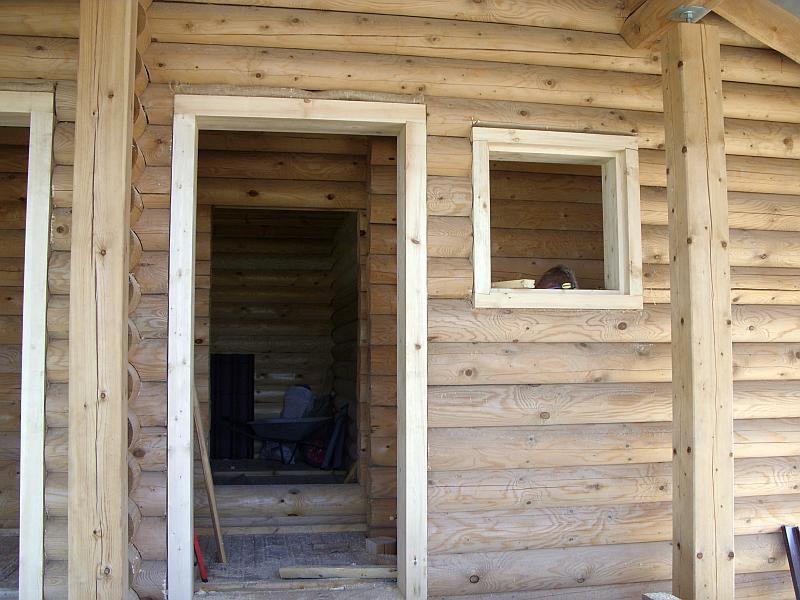 установка металлической двери в деревянном доме своими руками