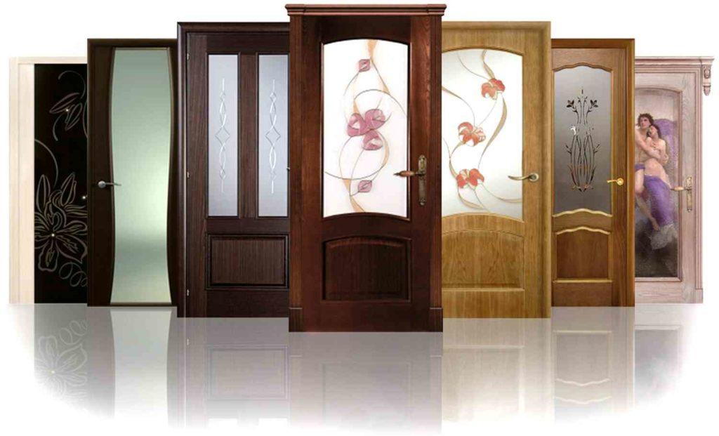 Двери межкомнатные - виды
