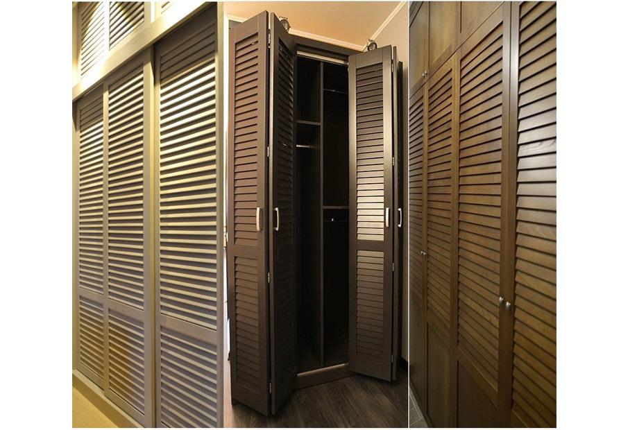 Жалюзийные двери - выбор и установка изделия.