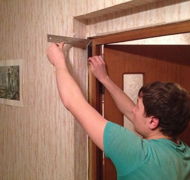 Доборы для входных дверей - монтаж