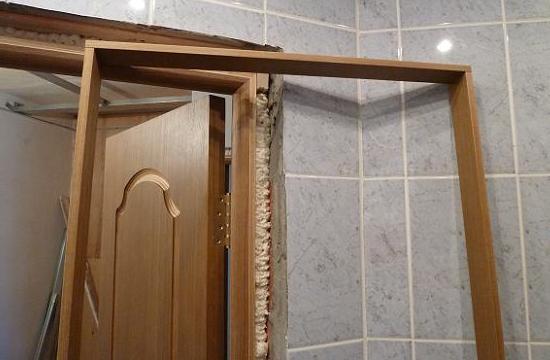 Доборные планки для межкомнатных дверей