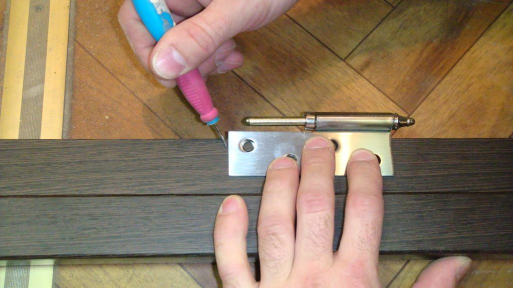 Дверная коробка своими руками - разметка петель