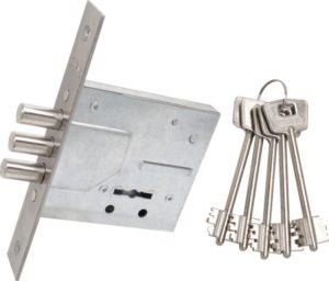 сувальдный замок для входной металлической двери