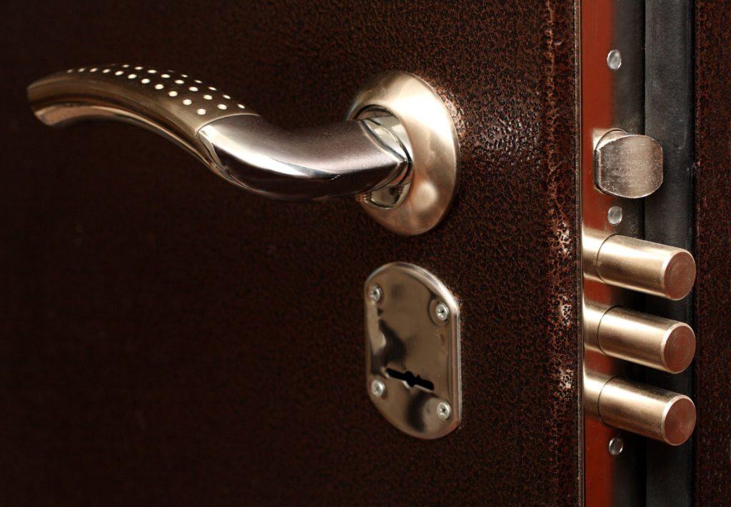 какие замки лучше для входных металлических дверей