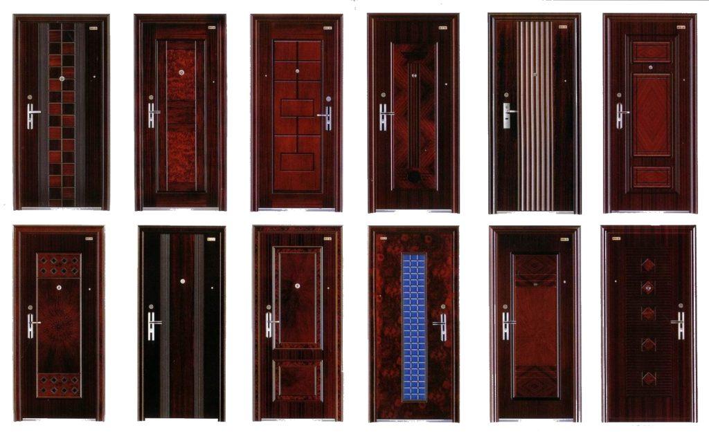 Внешняя отделка входной двери в квартиру