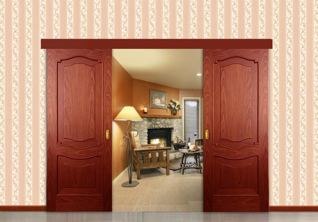 Преимущества межкомнатных раздвижных дверей