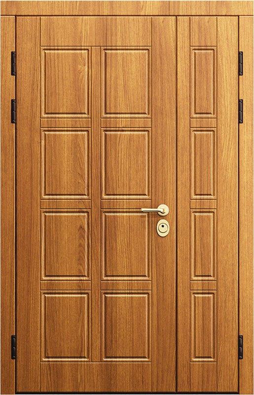 двойные входные металлические двери от производителя