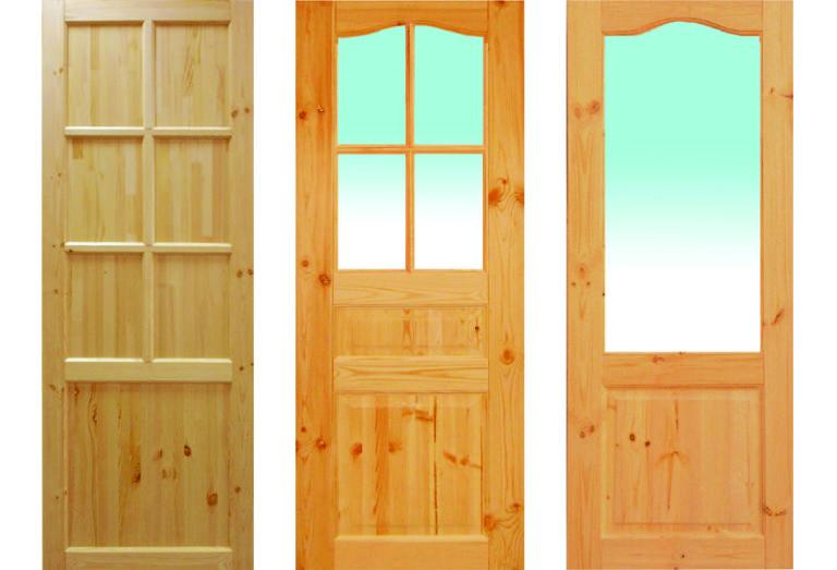 Дверь из массива как сделать