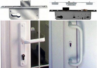 Поворотная и дугообразная модель дверной ручки
