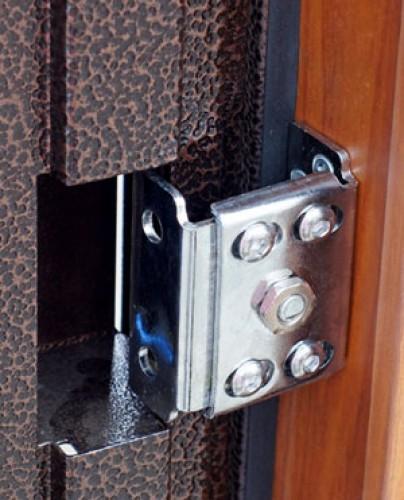 Скрытые регулируемые навесы под железные двери