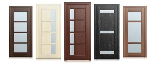 Остекление межкомнатных дверей
