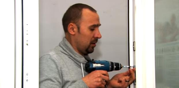 Ответная часть с магнитом устанавливается напротив стальной планки