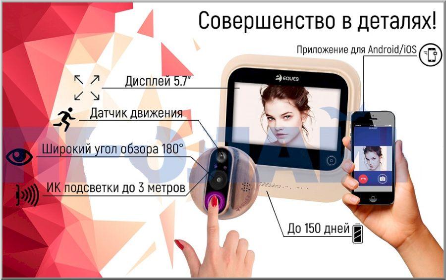 Wi-Fi видеоглазки: 7 популярных моделей