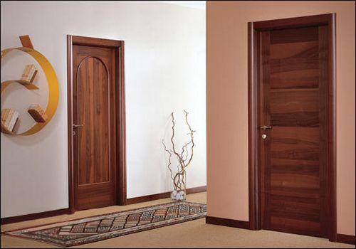 двери из натурального шпона